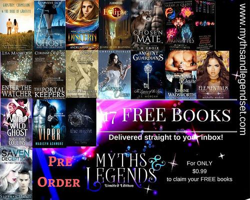 Myths & Legends pre-order Giveaway