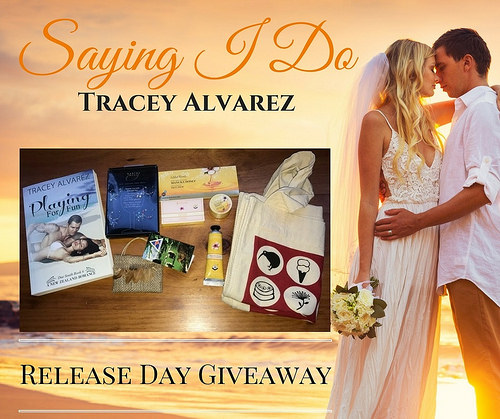 Saying I Do giveaway graphic